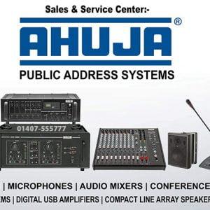 Ahuja PA System Bangladesh, PA System BD 2020