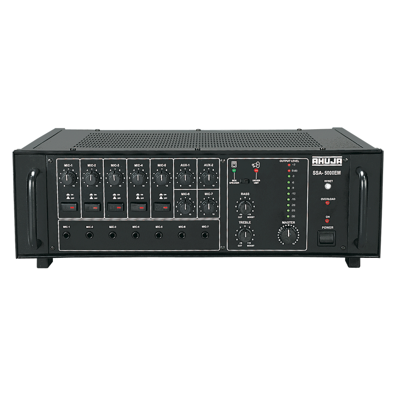 Ahuja SSA-5000EM 500WATTS High Wattage PA Mixer Amplifier, Ahuja SSA-5000EM in BD