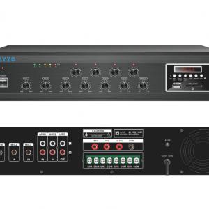 Ayzo A-BT-4Z-150W 150Watts 4-Zone Professional Amplifier