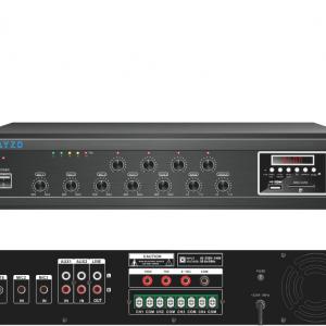 Ayzo A-BT-4Z-1000W 1000Watts 4-Zone Professional Amplifier