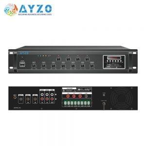 Ayzo A-BT-4Z-380W 380Watts 4-Zone Professional Amplifier