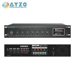 Ayzo A-BT-4Z-200W 200Watts 4-Zone Professional Amplifier