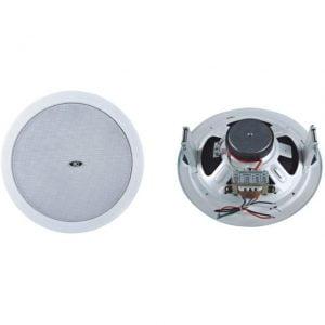 ITC T-108L 8' ceiling speaker,1.87-3.75-7.5-15W,100V