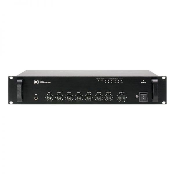 ITC T-240B Public Address Mixer – 240W Power Rating