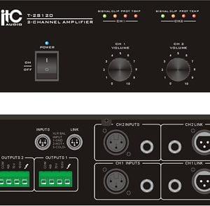 ITC T-2S120 Two Channel Power Amplifier