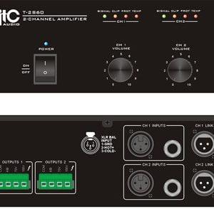 ITC T-2S60 Two Channel Power Amplifier