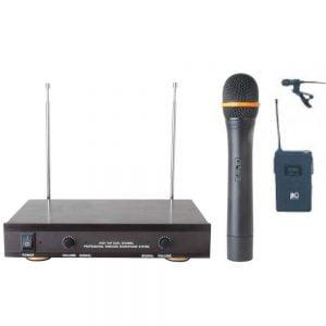 ITC T-521F VHF Wireless Microphone (Hand+Lapel)