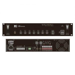 ITC T-650B Economy Public Address Mixer Amplifier, 3U Rack Mount