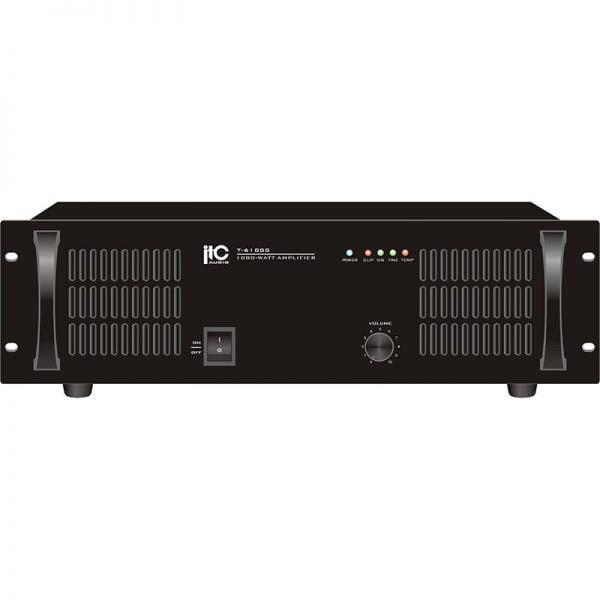 ITC T-61500 Series 1500 Watt Audio Amplifier Professional Power