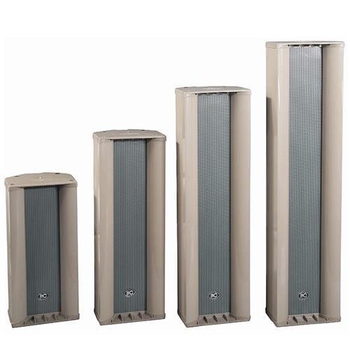 ITC T-804N IP Digital Network Active Waterproof Column Speaker, 60W