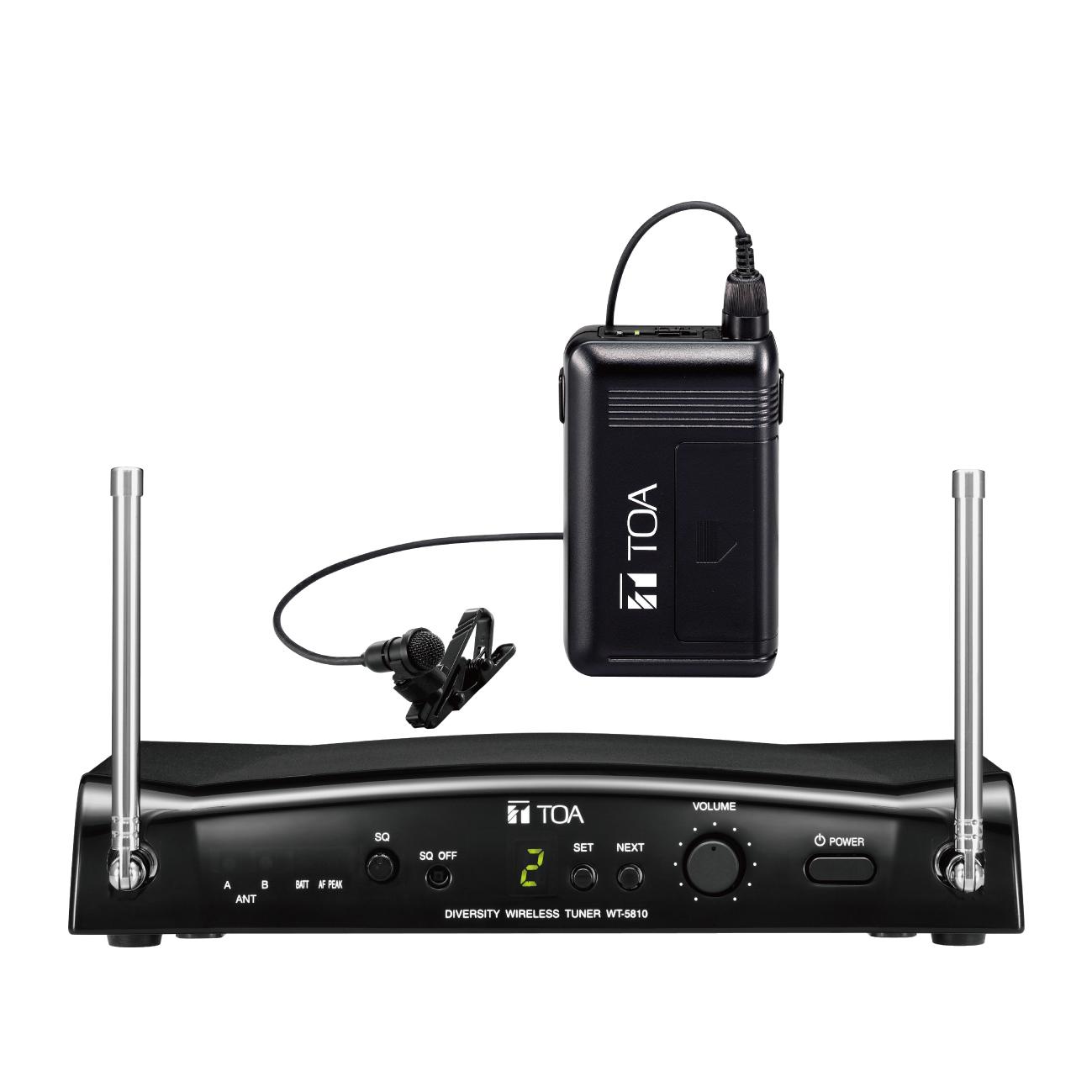 TOA WS-5325 Wireless Set BD