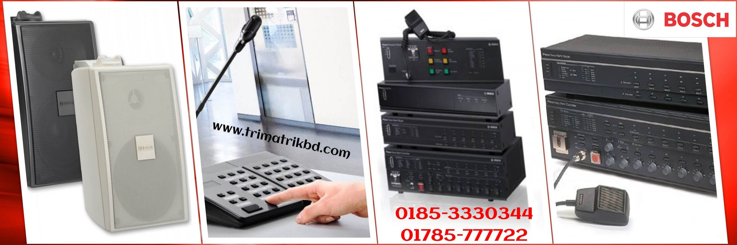Bosch Sound System in Bangladesh